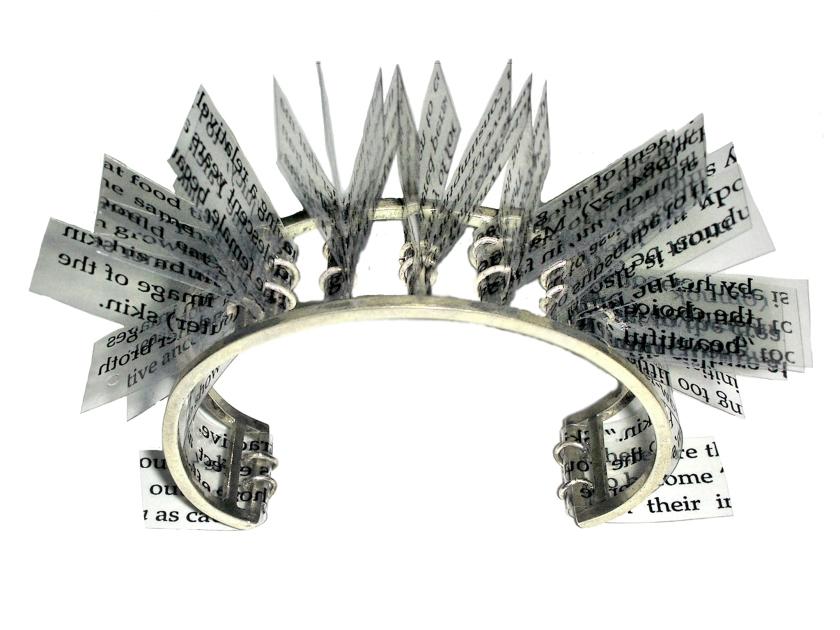darlington word book bracelet